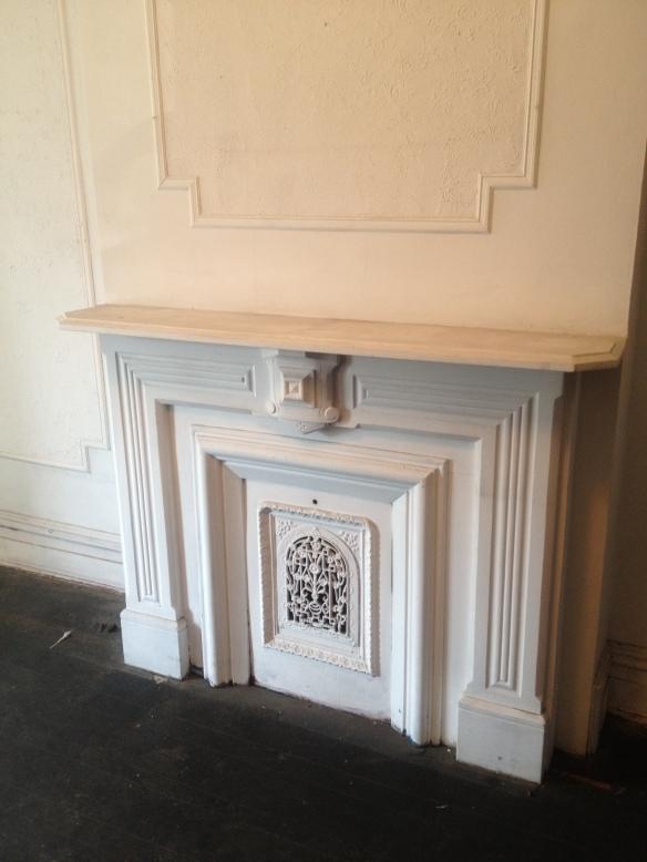 Trinity's Bedroom Fireplace
