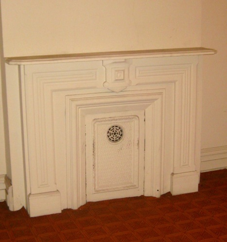 Treasure - upstairs fireplace