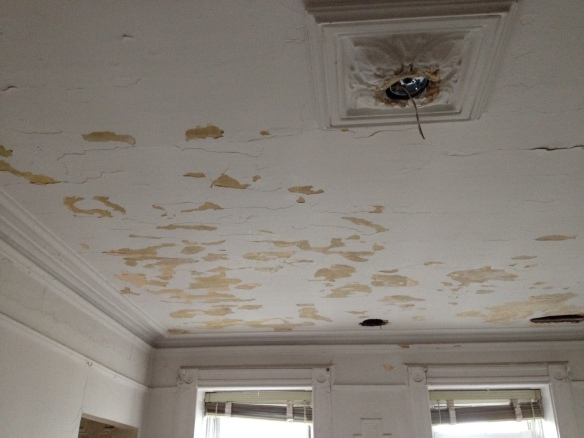 The ceiling before