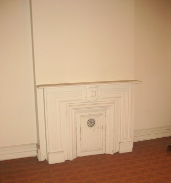 fireplace upstairs