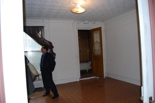 back parlor floor