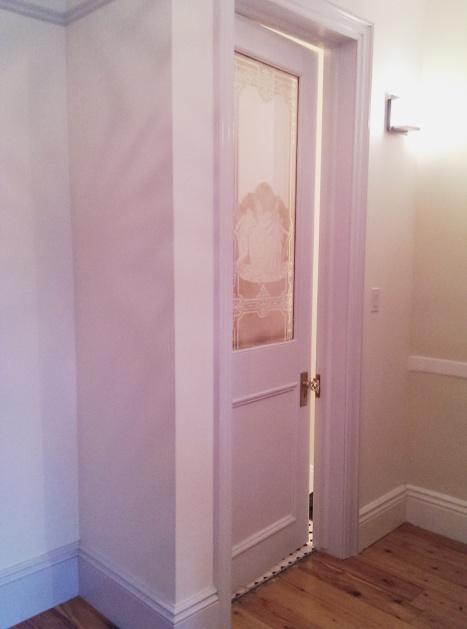 power room door