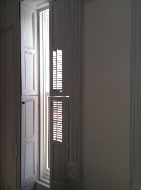 shutters after