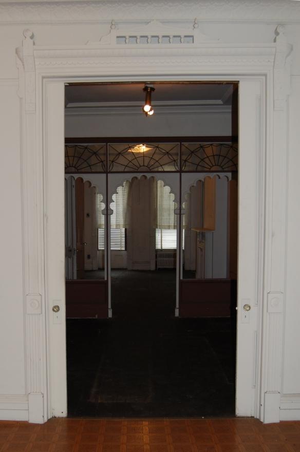 parlor facing south